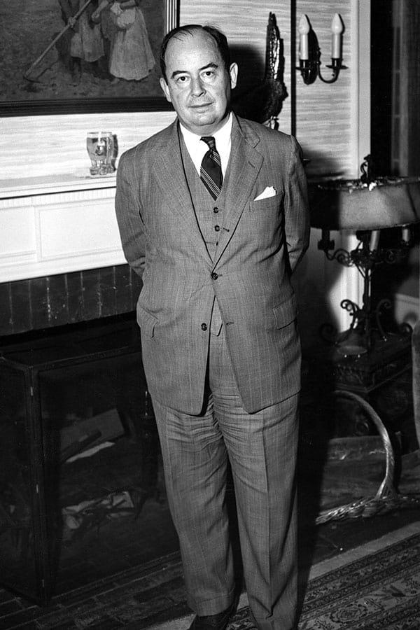 史上最高の天才、フォン・ノイマン「人間のフリをした悪魔」の素顔