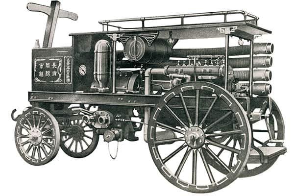 【4月23日の話】消防車の誕生…窒素で火を消し、オフロードも突き進む最新型とは