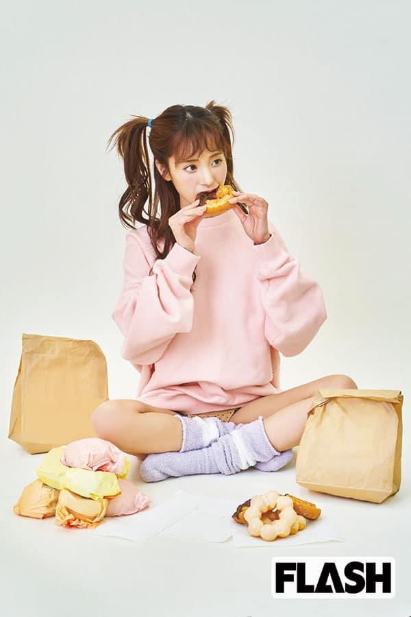 桃乃木かな「デカ盛りを食べると20cmおなかが出る(笑)」体重を戻すのにかかる日数は?