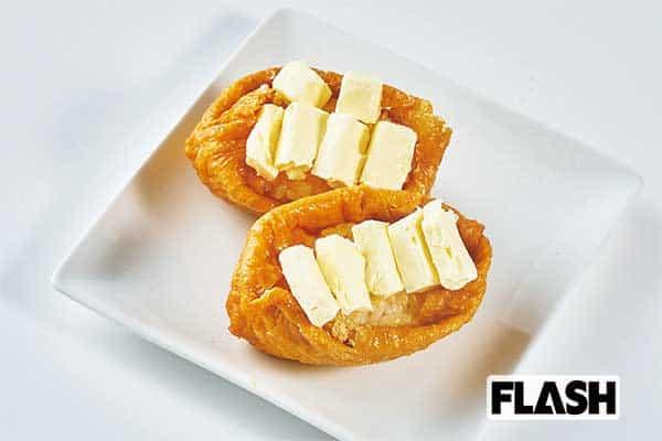 どぶろっくが採点「悪魔の食べ合わせ」いなり寿司×クリームチーズ