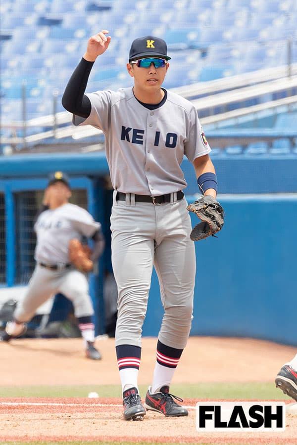 清原和博氏の長男が慶大野球部デビュー、6年のブランク感じさせぬ本塁打も