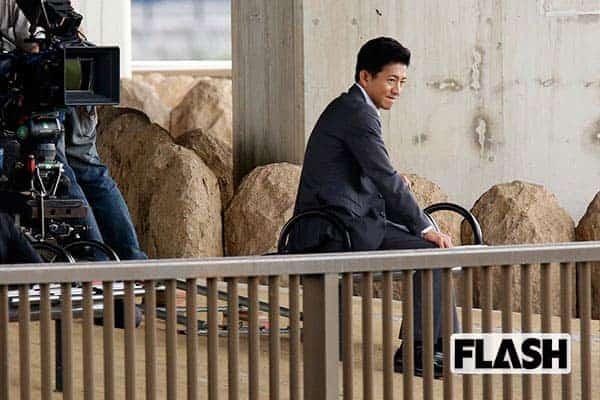 2017年、映画『検察側の罪人』の撮影に臨んでいた木村