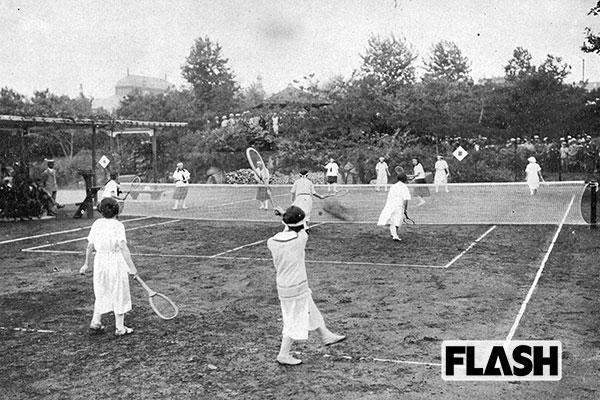 日比谷公園でOLたちが初テニス…難産だった日本初の洋風公園/6月21日の話