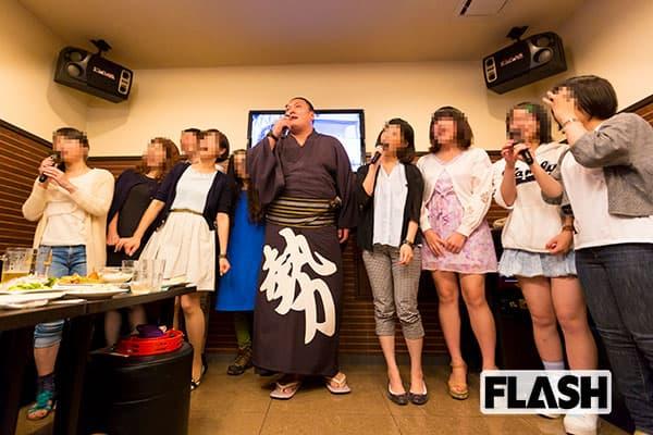 大相撲・現役引退の勢、カラオケでファンとデュエットしたことも…女子高生も大興奮