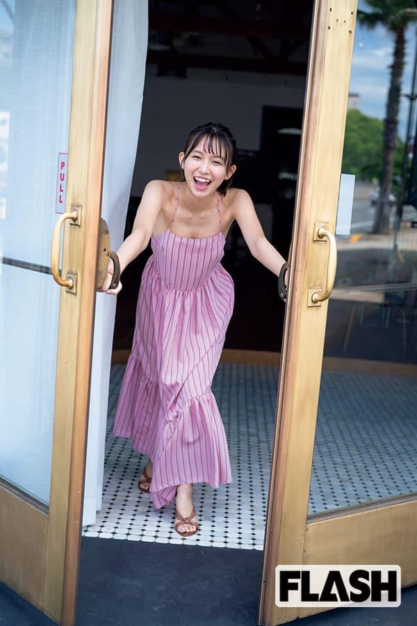 志田音々 お天気キャスターから女優へ!「目標は自分磨きと自立」