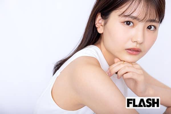 「私が女優になる日」岡田里穗、「腹筋してお腹を鍛えています」