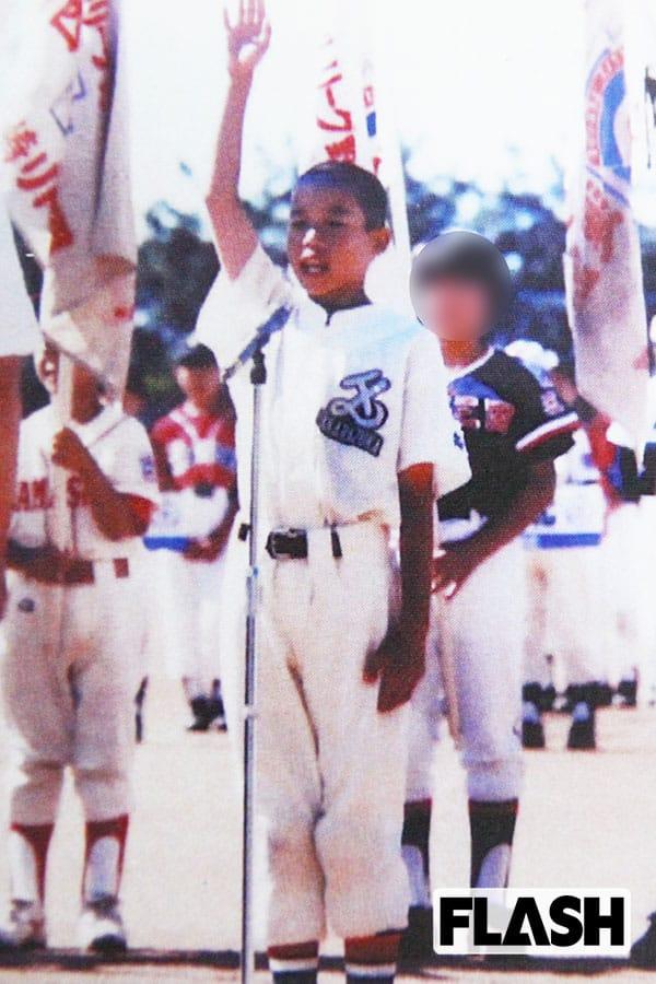 侍ジャパン・山田哲人、空手やサッカーも…華奢だけど運動神経抜群だった少年時代