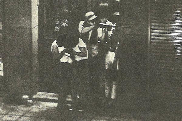 警官を殺して立てこもった18歳、渋谷のど真ん中で銃を乱射する/7月29日の話