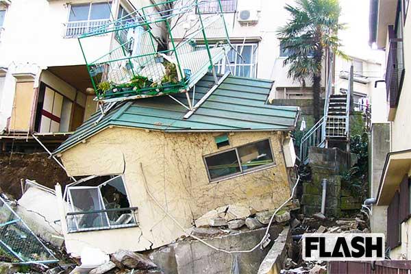 品川区の一戸建ても簡単に崩壊…戦前の盛り土、地下2メートルまで地下水が迫る
