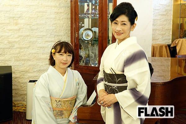 女子アナ日下千帆の「美女は友達」大島紬の伝統を継承する着付け講師