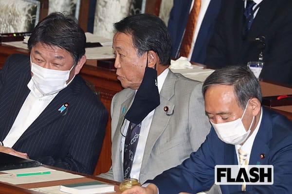 """麻生太郎 """"菅切り""""の前兆? 高級補聴器のメンテナンスでこぼした「総理の声が聞こえねえんだ」"""