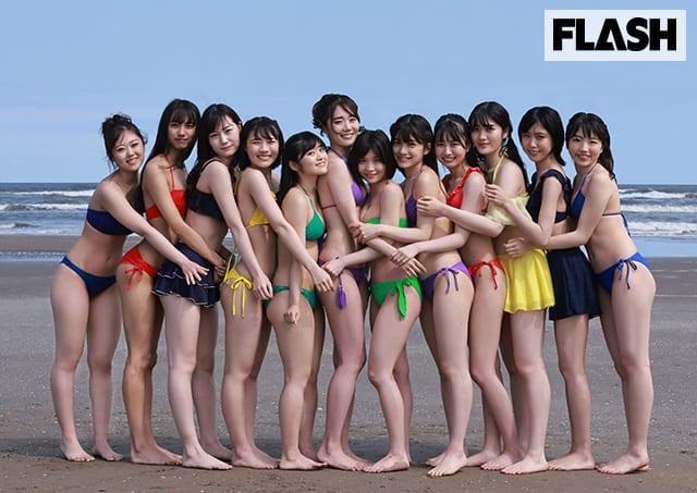 「虹のコンキスタドール」の「虹の7周年」を記念したデジタル写真集!FLASHデジタル写真集発売!
