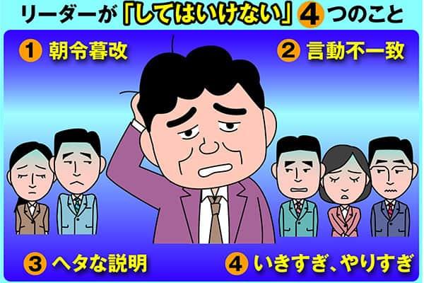 樺沢紫苑の「読む!エナジードリンク」リーダーがやってはいけない4カ条