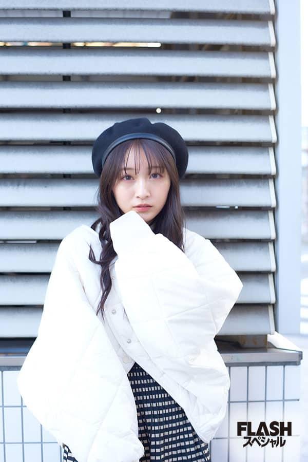 NMB48 山本彩加【オフショット】FLASHスペシャルグラビア2021年新年号
